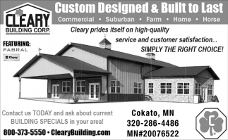 Custom Designed & Built to Last