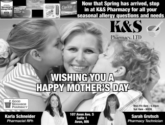 Wishing You a Happy Mother's Day