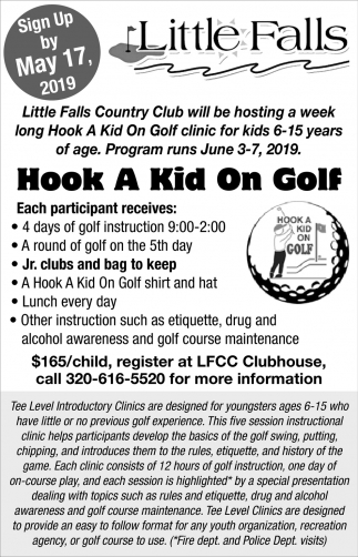 Hook a Kid On Golf