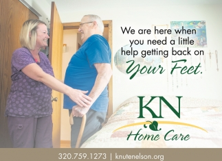 We are Here when You Need a Little Help getting Back On Your Feet