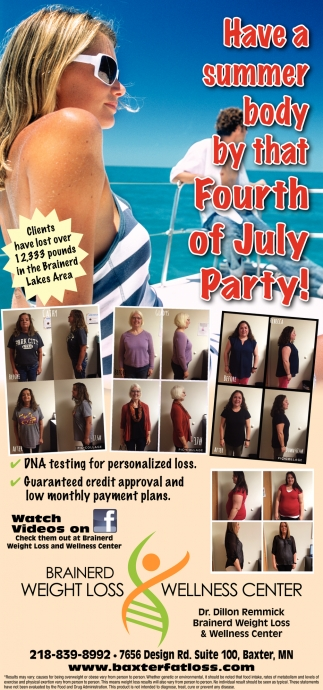 Have a Summer Body by that Fourth of July Party!
