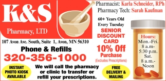 60+ Years Old Every Tuesday Senior Discount Card