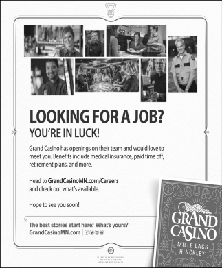 Looking for a Job?, You're in Luck!