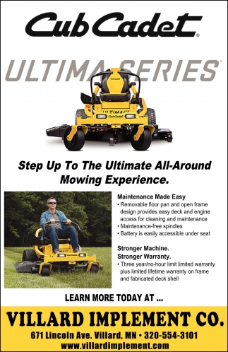 Step Up to the Ultimate All-Around Mowing Experience