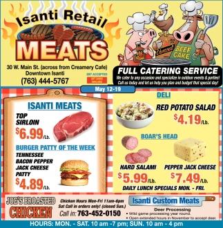Isanti Retail Meats