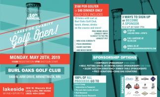 Lakeside Charity Golf Open!