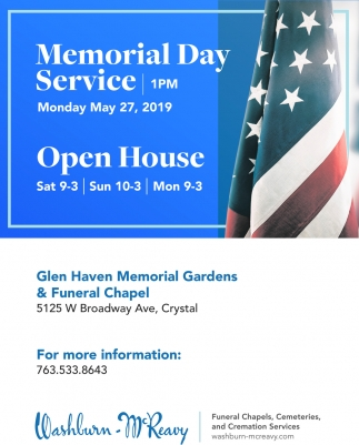 Memorial Day Service