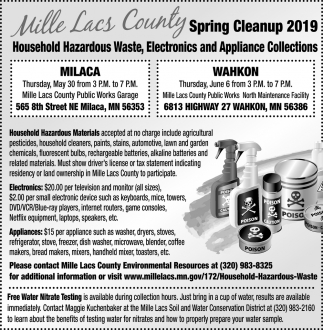 Spring Cleanup 2019