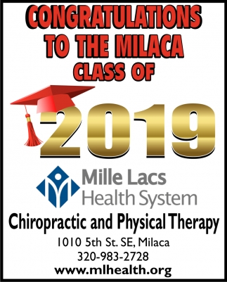 Congratulations to the Milaca Class of 2019