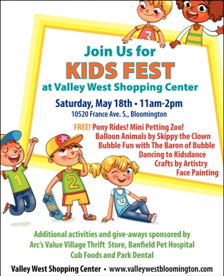 Join Us for Kids Fest