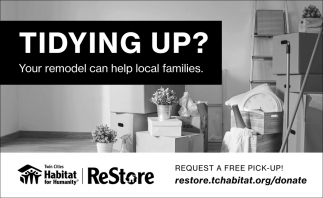 Your Remodel Can Help Local Families