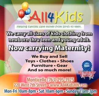 Now Carrying Maternity!