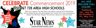 Celebrate Commencement 2019 District 728 Area High Schools