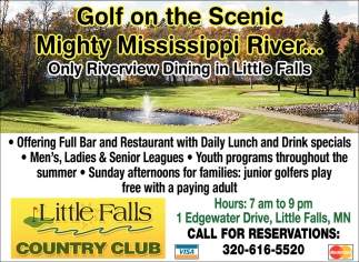 Golf On the Scenic Mighty Misssissippi River...