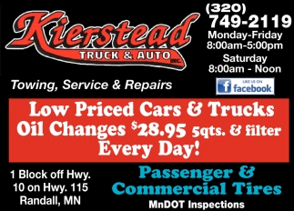 Towing, Service & Repairs