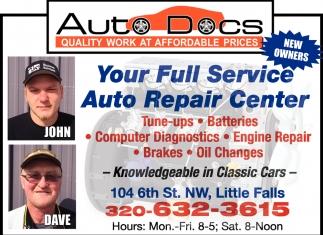 Your Full Service Auto Repair Center