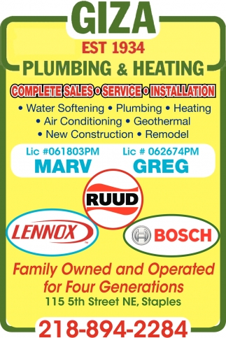 Famly Owned & Operated for Four Generations