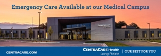 Emergency Care Available at Our Medical Campus