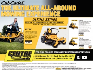The Ultimate All-Around Mowing Experience