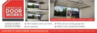Garage Screen Door System