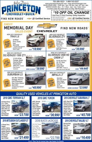 Quality Used Vehicles from Princeton Auto