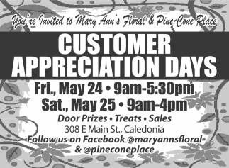 Customer Appreciation Days