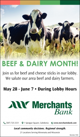 Beef & Dairy Month!