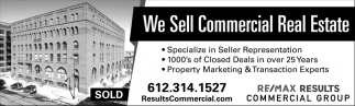 We Sell Commercial Real Estate