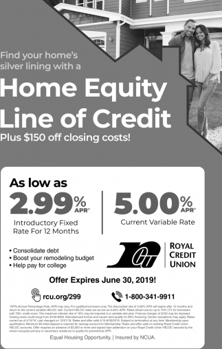 Find Your home's Silver Lining with a Home Equity Line of Credit