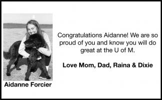 Aidanne Forcier