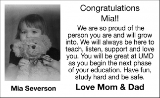Mia Severson
