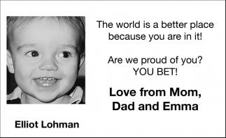 Elliot Lohman
