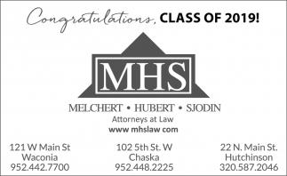 Congratulations Class of 2019!