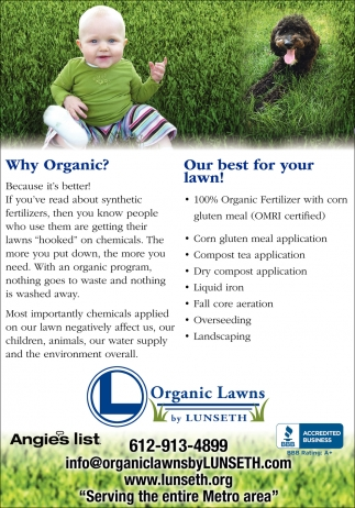 Our Best for Your Lawn!