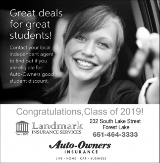 Great Deals for Great Students!