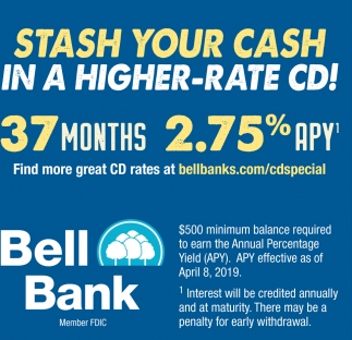 Stash Your Cash in a Higher-Rate CD!
