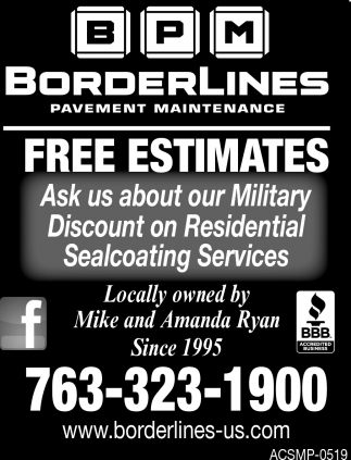 Ask Us Abount Our Military Discount On Residential Sealcoating Services
