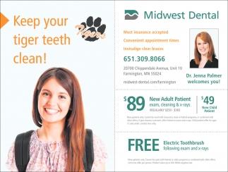Keep Your Tiger Teeth Clean!