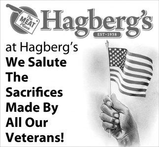 We Salute the Sacrifices Made by All Our Veterans!