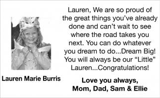 Lauren Marie Burris