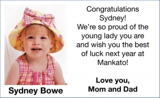 Sydney Bowe