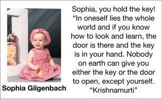Sophia Gilgenbach