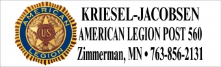 Kriesel Jacobsen Post 560 - American Legion