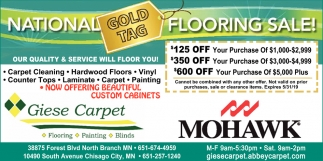 National Flooring Sale!