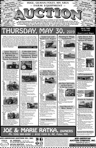 Farm Equipment Auction