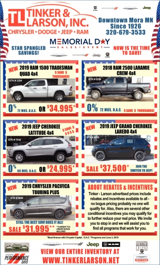 Star Spangled Savings!