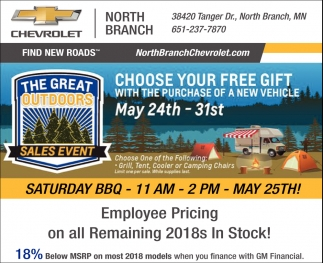 The Great Outdoors Sales Event