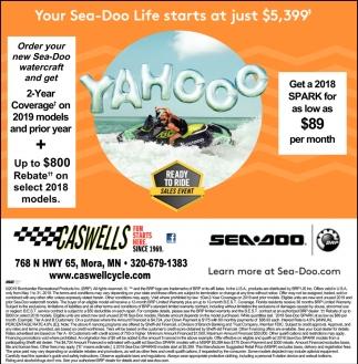 Your Sea-Doo Life Starts at Just $5,399