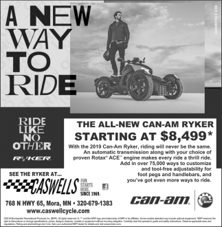 A New Way to Ride