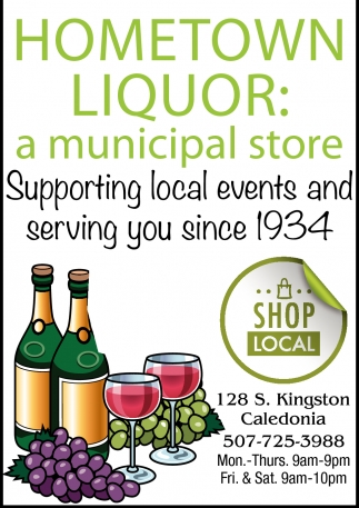 Supporting Local Events and Serving You Since 1934